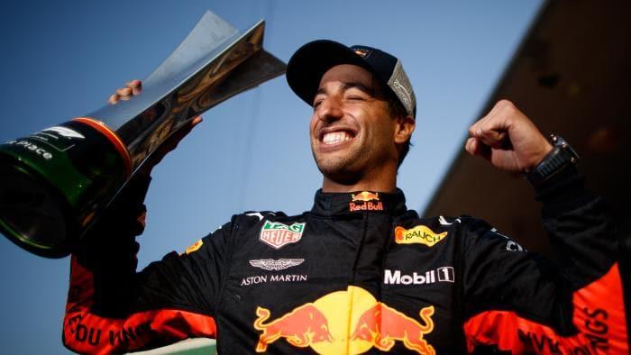 Daniel Ricciardo Gana Premio China